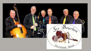 Sir Bourbon Dixieland Band från Göteborg.