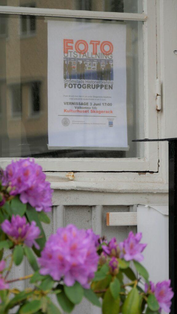 Fotoutställningen hade Vernissage  3 Juni!